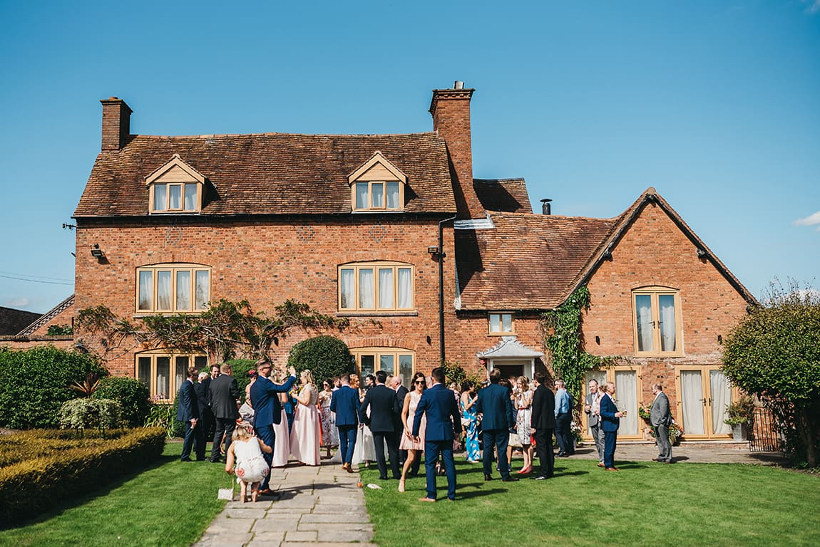 Farm wedding in Warwickshire
