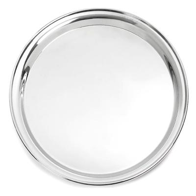 "Buffetware / Drinks Tray - 12"" Stainless Steel"