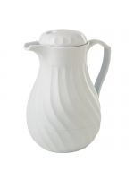 Crockery / Tea Pots (Insulated White)