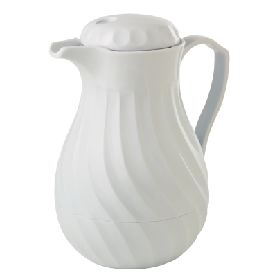 Crockery / Tea Pots (Insulated White)