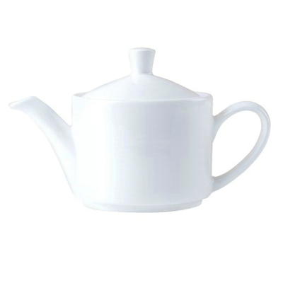 Crockery Hire / Tea Pot - Monaco Fine