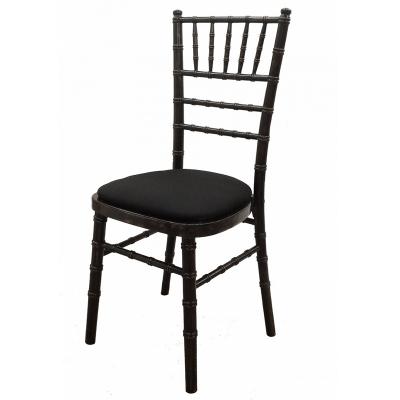 Furniture / Black Chiavari Chairs