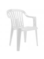 Furniture / White Plastic Garden Chairs