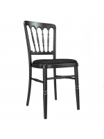 Furniture / Black Banqueting Chairs