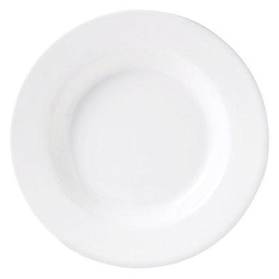 Crockery Hire / Rimmed Soup Plate - Churchill Classic