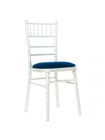 Furniture / Silver Chiavari Chairs