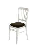 Furniture / White Banqueting Chairs