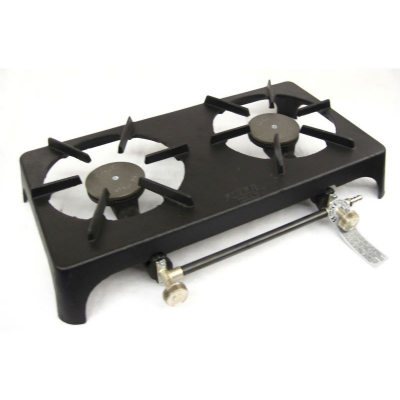 Cast Iron Double Burner Gas Boiling Ring with FFD