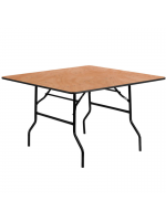 "Furniture Hire / 2'6"" Square Table"
