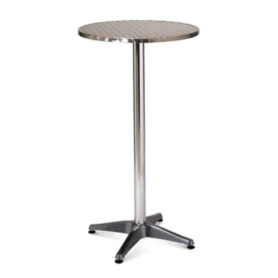 Furniture / Poseur Table -                 Black Top