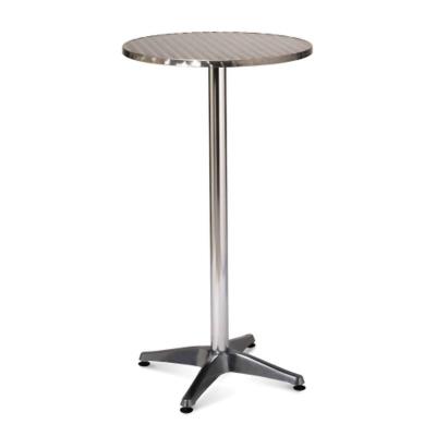 Furniture / Poseur Table -                 Black Top
