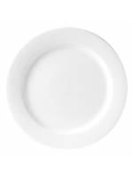 "Crockery Hire / 12"" Dinner Plate - Monaco Fine"