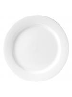 """Crockery / 12"""" Dinner Plate - Monaco Fine"""