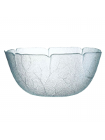 Kitchen Hire / Glass Salad Bowl - Large