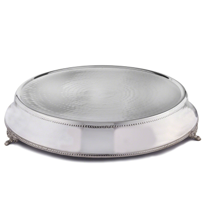 Tables Accessories / Wedding Cake Stand & Knife (Round)