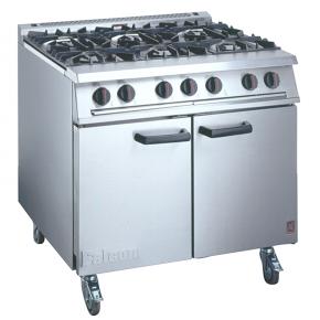 LPG 6 Ring Burner & Oven