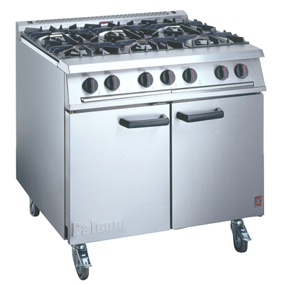 Kitchen Hire /  6 Ring Burner & Oven LPG