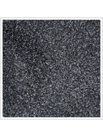 Linen / Liquorice Organza