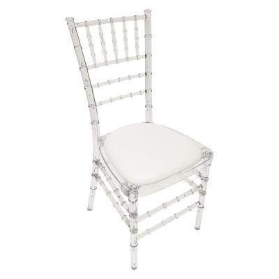Ghost/Ice Chiavari chair hire