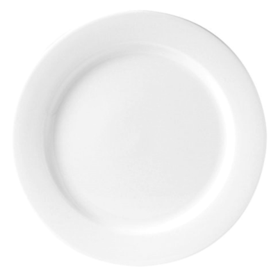 "Crockery Hire / 9"" Starter/Dessert Plates - Monaco Fine"
