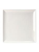 """Crockery Hire / 10¾"""" x 10¾"""" Square Plates - Monaco Fine"""