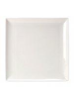 "Crockery / 10¾"" x 10¾"" Square Plates - Monaco Fine"
