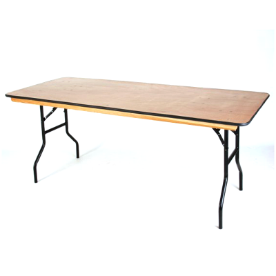 Furniture / 6' Trestle Table